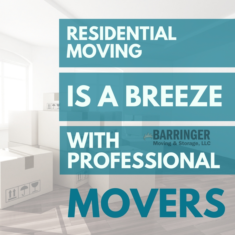 Residential Moving is a Breeze with Professional Movers