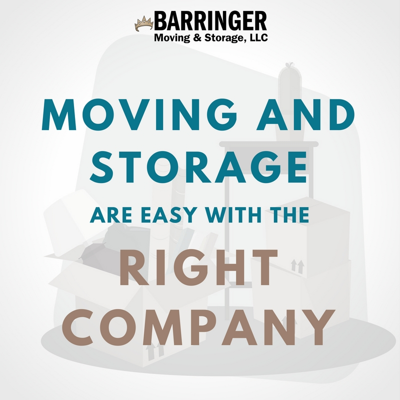 Moving and Storage are Easy with the Right Company