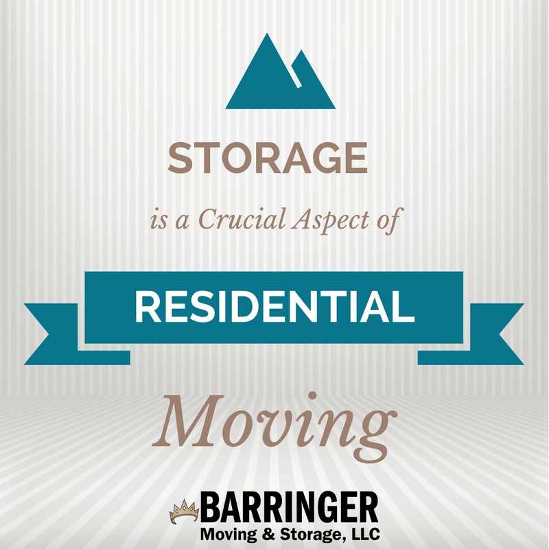 Storage is a Crucial Aspect of Residential Moving