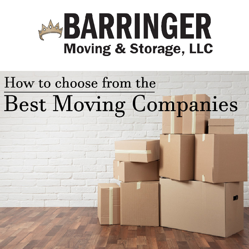 How to Choose From the Best Moving Companies