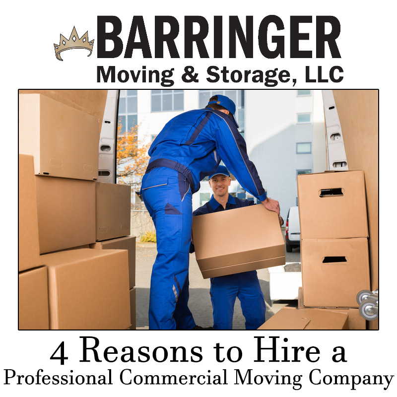 4 Reasons to Hire a Professional Commercial Moving Company